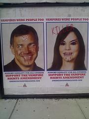 Vampire Were People Too (defaced) (anilineblack) Tags: trueblood americanvampireleague