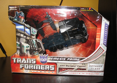 Classics Nemesis Prime (San Diego Comic-Con 2008 Exclusive)
