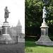 Frederick Douglass statue 1906 & 2008