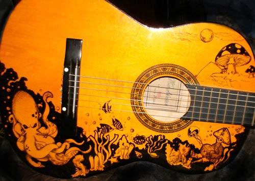 Venonded - DeviantART guitar art design
