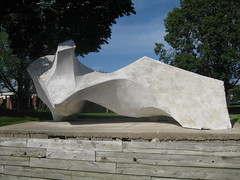 Reclined Figure by Russell Erickson