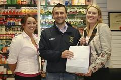 Adrian Dunne Pharmacy Sponsor First Aid Kit
