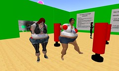 Fat suits created by GirlStart Teens