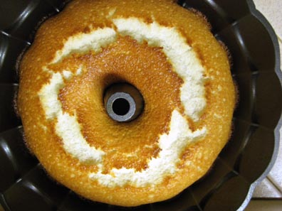 Angel Food Cake Disaster #2