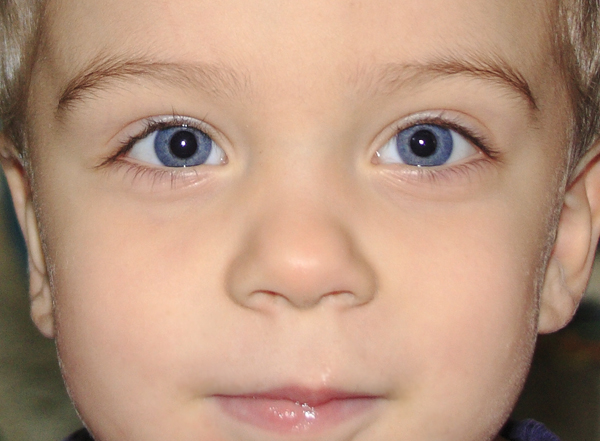 Rocky's eyes
