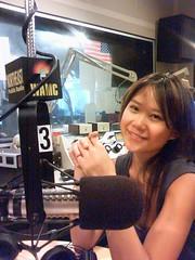 Yuja in the studio.