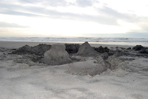 66-Sand Castle Ocean