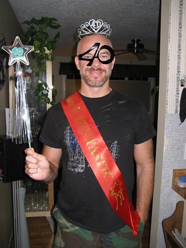 Dan's 40th Birthday Party...Bonus Pic!