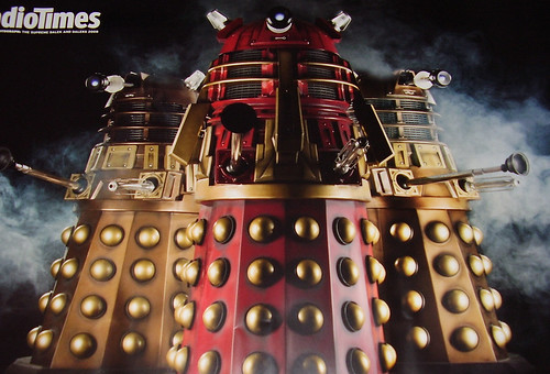 RADIO TIMES - DR WHO POSTER