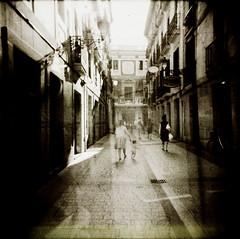 (_isa.marcelli) Tags: street 120 6x6 film calle holga doubleexposure doubleexposition sansebastian lowfi palabra ixtlan spanishlight hourofthesoul