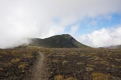 小泉岳からは目と鼻の先の白雲岳