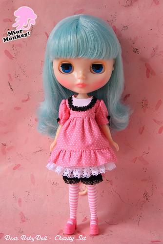 MforM Pink Dear Babydoll Set
