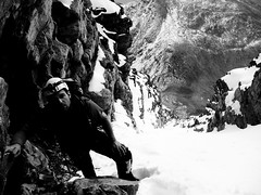On Mt. Edith Cavell (mike.palic) Tags: snow ice mike rock climbing alpine climber mtedithcavell