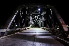 Washington Avenue Bridge (Satxvike) Tags: wacosuspensionbridge washingtonavenuebridge nightphotoraphy satxvike henrydelgado