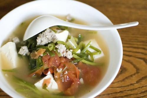 Mama Minh's Tofu Soup