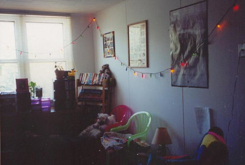My rinkydink little apartment for the one month I lived in Superior after college, June 2001.