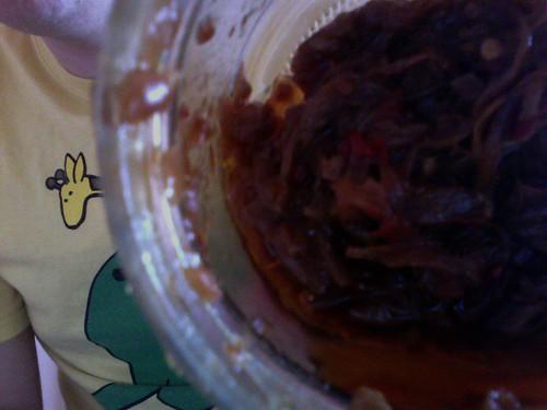 chilli onion jam