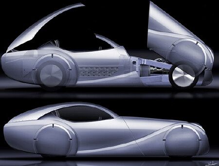 Twenty-third futuristic car photo