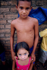 Brother, Sister. (danahalferty) Tags: family brazil portrait sister brother mission ywam streetkids