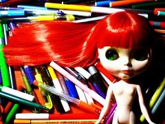 "Blythe al Desnudo ""Colorful III"""