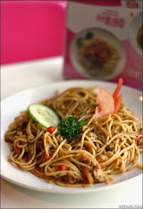 spaghetti with italian herbs