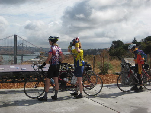 Phil & Christine at Carquinez Bridge