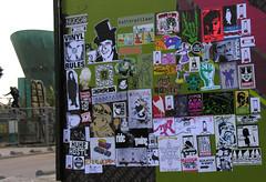 stickercombo (wojofoto) Tags: streetart amsterdam faces propaganda stickers theory campaign erase bushit stickercombo earworm huke putup mattscat 14bolt surgen rebelzer wojofoto vinylone amacomics