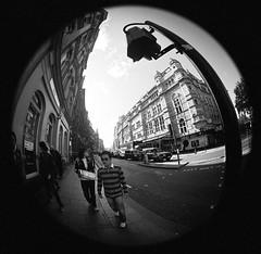 short guy (Curtain Otaku) Tags: london fisheye ravi 2008