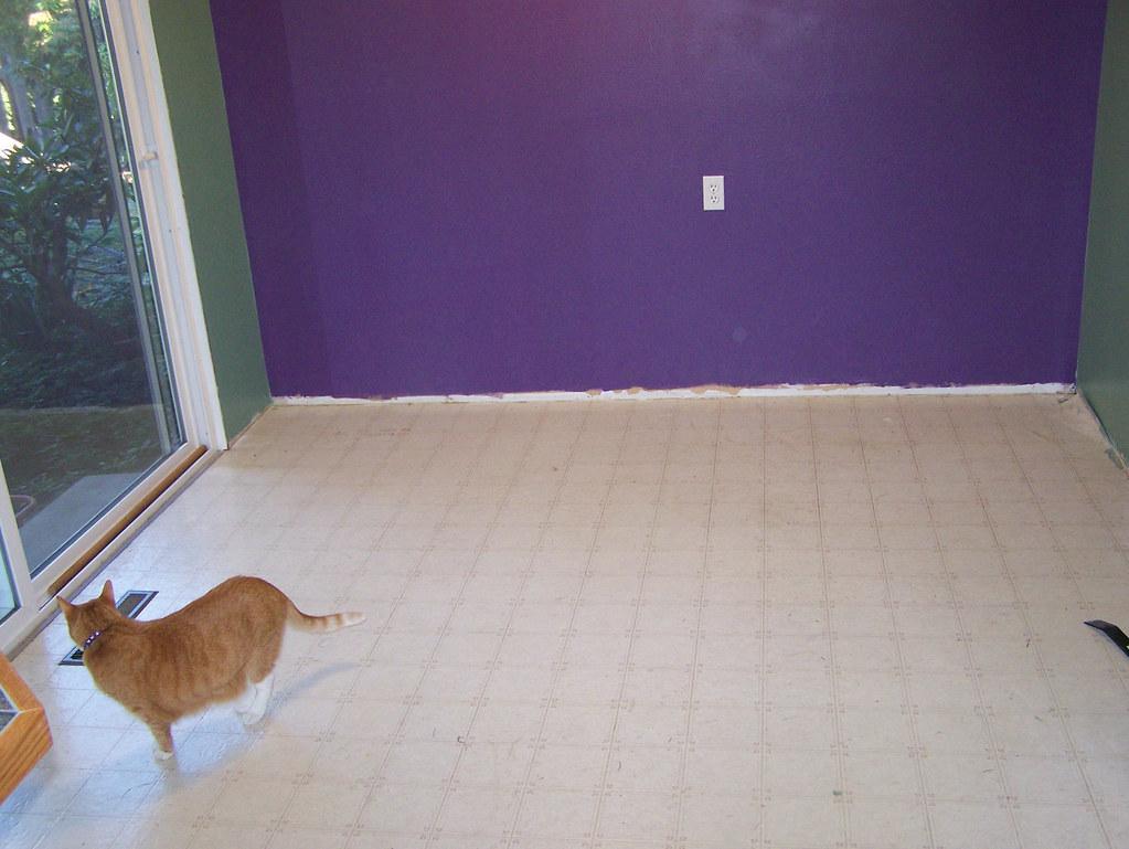 floor before