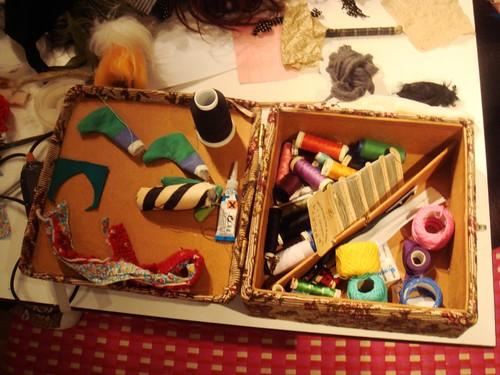 Taller de muñecos de Gina Thorstensen en Duduá