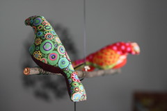 Kaffe Fassett Bird by melingo wagamama, on Flickr