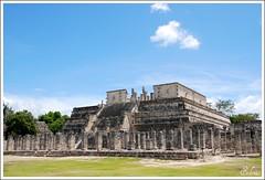 Chichén Itzá (selenis) Tags: méxico temple nikon columns dos warriors 2008 thousand templo chichénitzá d80 milcolunas guerreuris