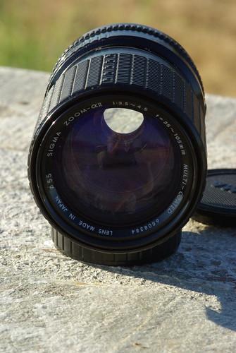 Sigma 35-105mm f/3.5-4.5