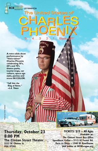 Mid-Century Historian, pop-culture humorist, book author & NPR contributor, Charles Phoenix
