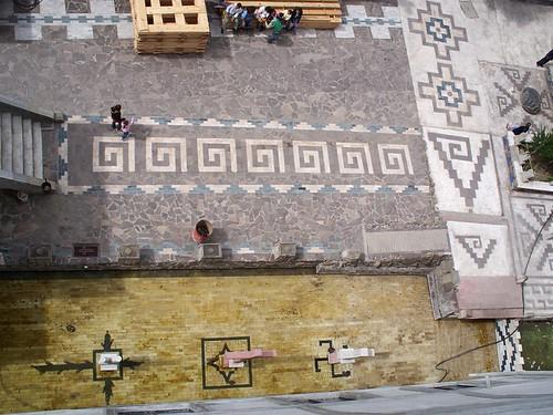 Vista desde Arriba, glifos y estrella