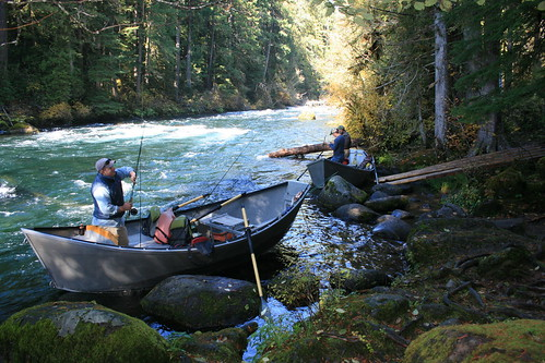 Gearing up, Fall McKenzie River trip