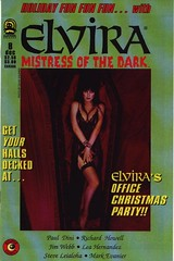 Elvira, Mistress of the Dark #8 cover