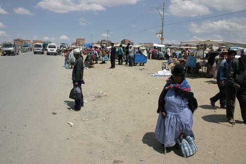 El Alto market, La Paz Suburb.