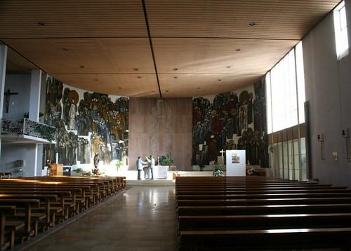 Pfarrkirche Zu den heiligen zwölf Aposteln (Sep Ruf, 1952/53)