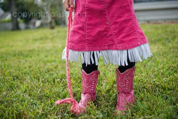 fringe, check. lasso, check. boots, check.
