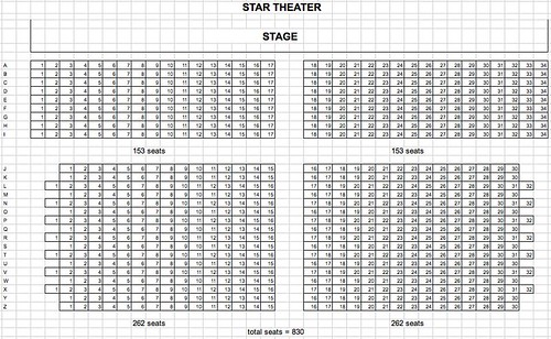 StartheaterSeatPlan
