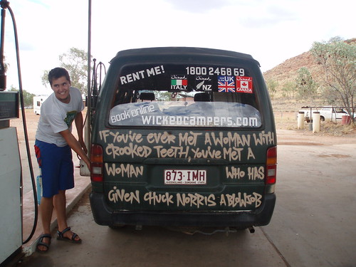 Wicked Camper Van