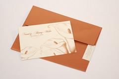 Calla Lillies Invitation (marithansonweddings) Tags: callalily marithansonweddings