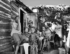 What I feel is a timeless picture (Gigi's gallery) Tags: poverty family blackandwhite familia pobreza batey hairygitselite