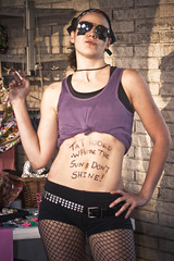 Tattooed where the sun don't shine -2154 (RussellReno) Tags: atlanta woman hot nashville rollerderby babe arg 2008 allstars russellreno wftda dirtysouthderbygirls arg110808 scatteredsmotheredsouthern 1000portraits