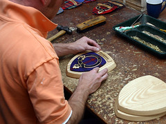 Making a clan crest plaque