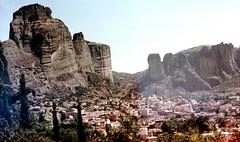 Meteora - Klster  (Film kaputt) (roba66) Tags: greek greece griechenland kloster meteora antik