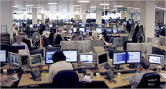 Reuters London newsroom