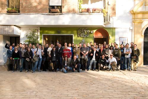 Foto de grupo Weblogs SL en la Sopa Boba
