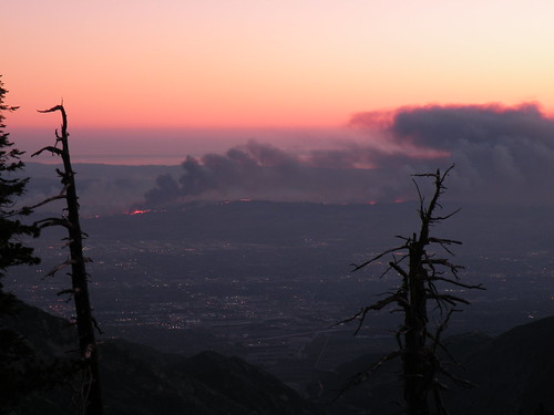 CHINO HILLS FROM BALDY